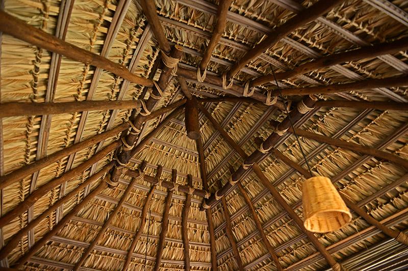 Amenity: <span>High Palapa Ceiling</span>