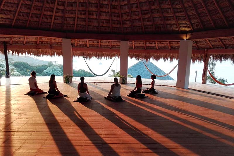 Bring your own yoga teacher or let us organize a local one for you