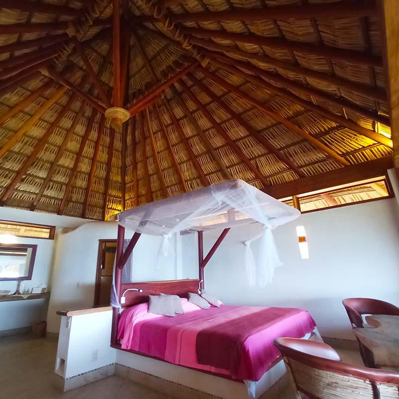 El mejor hotel de San Agustinillo - Nuestra cabaña Orion