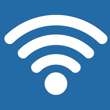 Free satellite WiFi for our guests