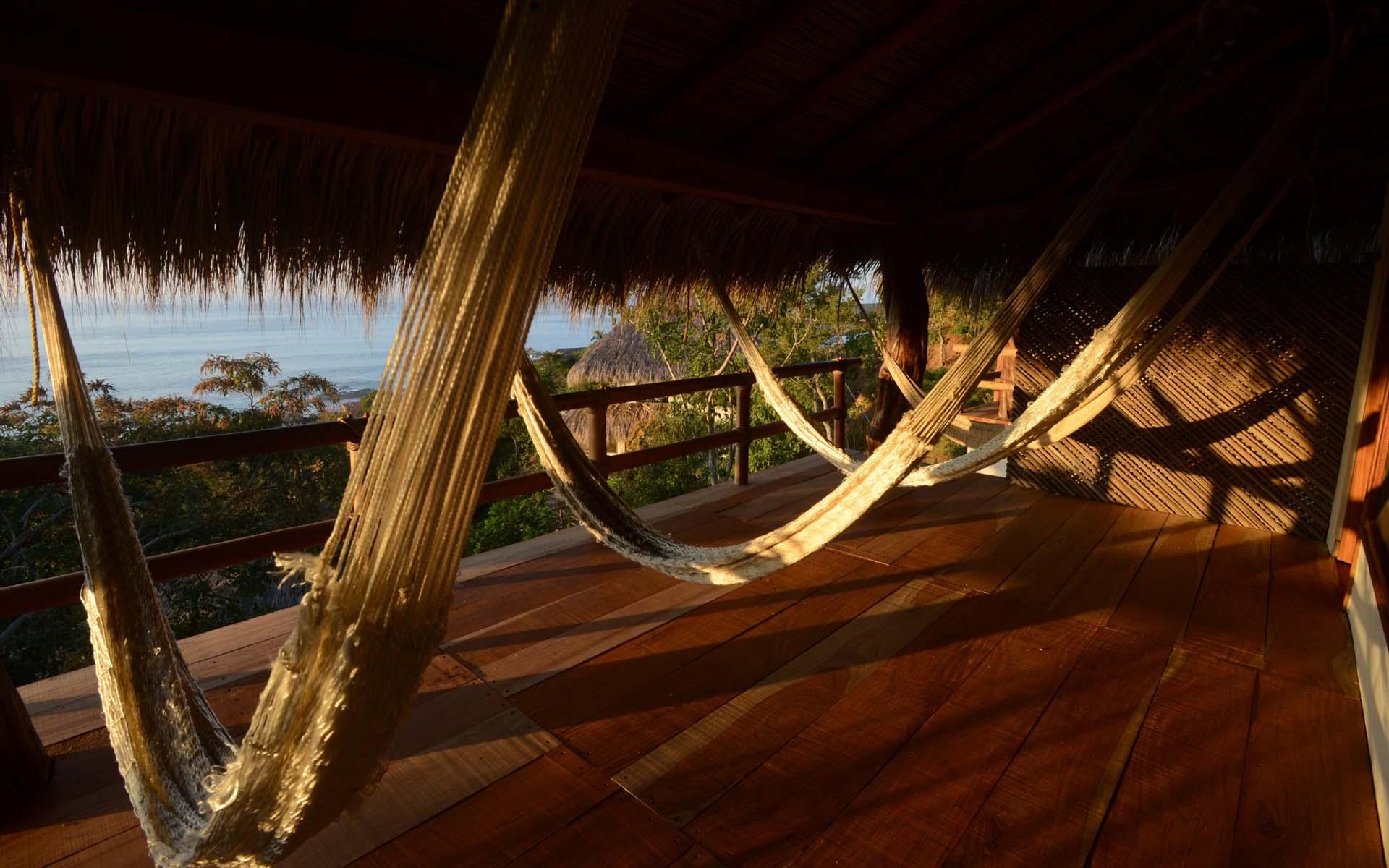 El mejor alojamiento en San Agustinillo, México, con una espectacular vista al mar.