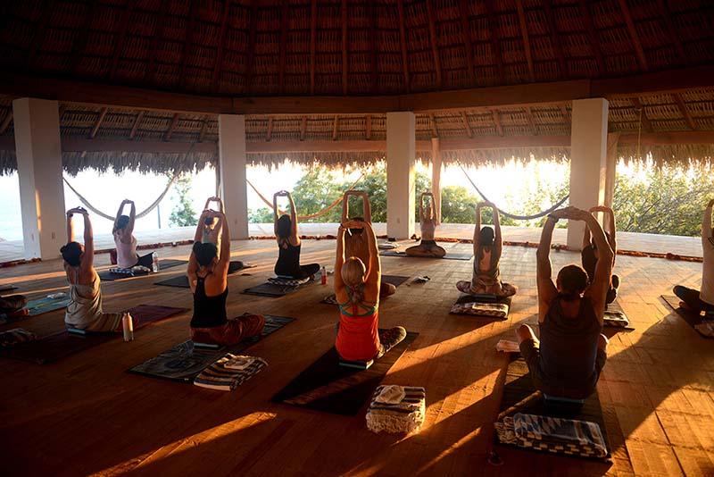 Tu retiro de yoga autoorganizado Mazunte sorprenderá a tu clase de yoga!