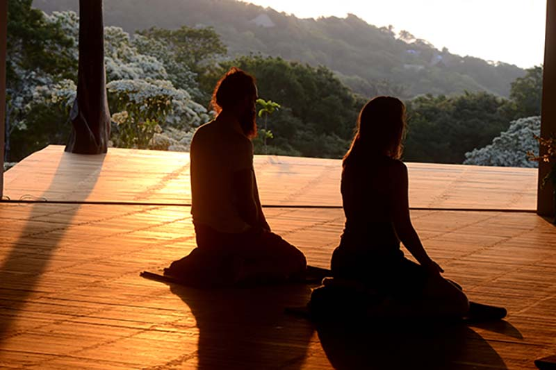 La meditación y el yoga en uno de los lugares más bellos de San Agustinillo