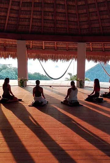 At Zazil you can find the best Yoga Studio in Mazunte